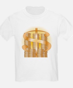 Piles of Coins T-Shirt