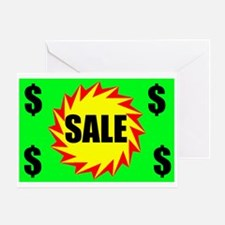 SALE Greeting Card