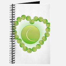 Tennis Balls Heart Journal