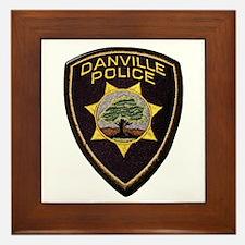 Danville Police Framed Tile
