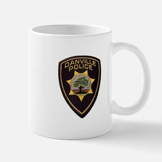 Danville Police Mugs