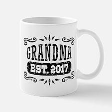 Grandma Est. 2017 Small Mugs