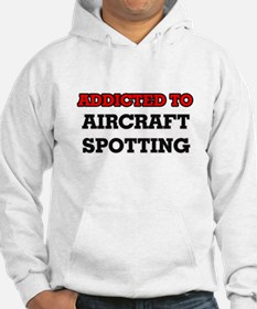 Addicted to Aircraft Spotting Hoodie