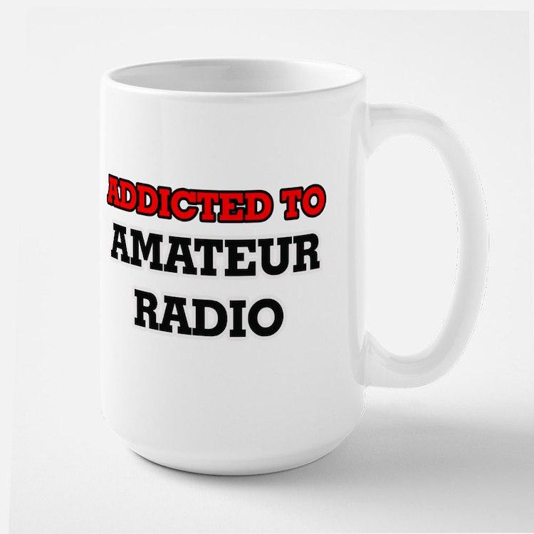 Addicted to Amateur Radio Mugs