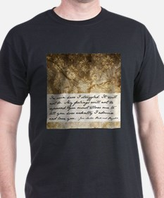 Pride and Prejudice Quote T-Shirt