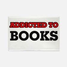 Addicted to Books Magnets