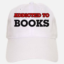 Addicted to Books Baseball Baseball Cap