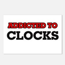 Addicted to Clocks Postcards (Package of 8)