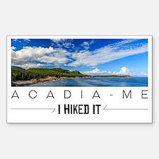 Funny Acadia national park Sticker (Rectangle)