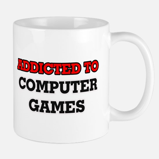 Addicted to Computer Games Mugs