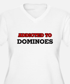 Addicted to Dominoes Plus Size T-Shirt