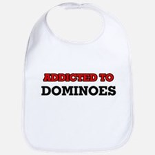 Addicted to Dominoes Bib