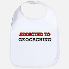 Addicted to Geocaching Bib