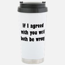 Cute Mr right and mrs always right Travel Mug