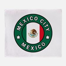 Mexico City Throw Blanket