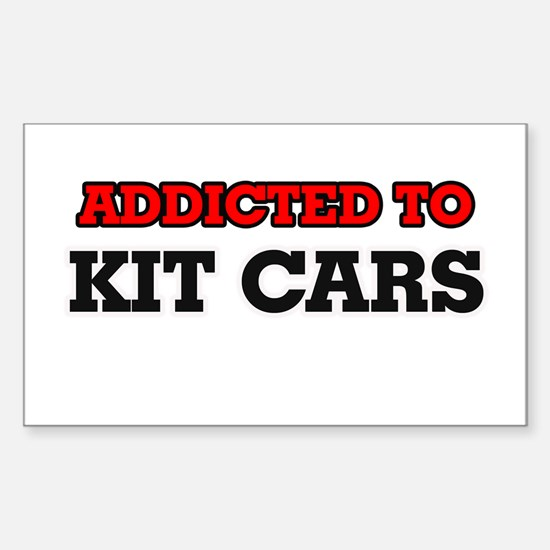 Addicted to Kit Cars Decal