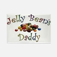 Jelly Bean's Daddy Rectangle Magnet