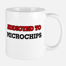 Addicted to Microchips Mugs