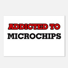 Addicted to Microchips Postcards (Package of 8)