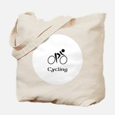 Team Cycling Title Tote Bag