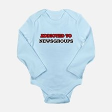 Addicted to Newsgroups Body Suit