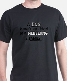 Nebelung Cat Is My Family T-Shirt