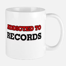 Addicted to Records Mugs