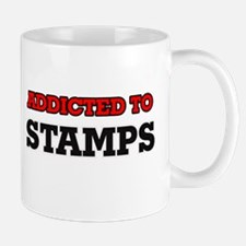 Addicted to Stamps Mugs