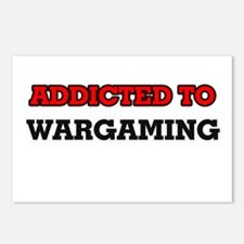 Addicted to Wargaming Postcards (Package of 8)
