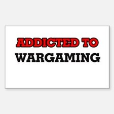 Addicted to Wargaming Decal