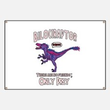 Bilociraptor - Speech Lable Banner