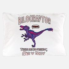 Bilociraptor - Speech Lable Pillow Case