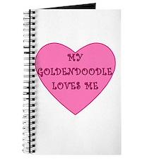 My Goldendoodle Loves Me Journal
