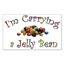 Vastoria's Jelly Bean Products Sticker (Rectangula