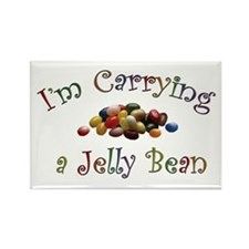 Vastoria's Jelly Bean Products Rectangle Magnet