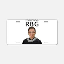 Notorious RBG Aluminum License Plate