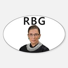 Notorious RBG Sticker (Oval)