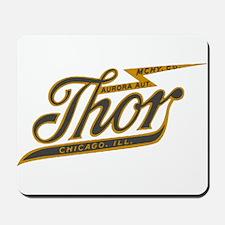 Thor Motorcycle Chicago Retro Mousepad