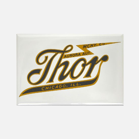 Thor Motorcycle Chicago Retro Magnets