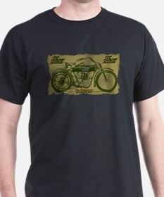 Thor Motorcycle Retro Logo T-Shirt