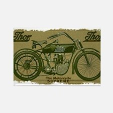 Thor Motorcycle Retro Logo Magnets