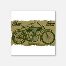 Thor Motorcycle Retro Logo Sticker