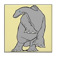 """Gertie the Dinosaur"" Tile Coaster"