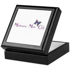 MISSIONARY MOM CLUB Keepsake Box