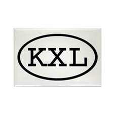 KXL Oval Rectangle Magnet (100 pack)