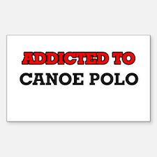 Addicted to Canoe Polo Decal