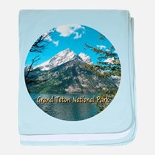 Grand Teton National Park Jenny Lake baby blanket
