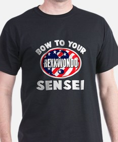 rexkwondo2_color_on_wht.png T-Shirt