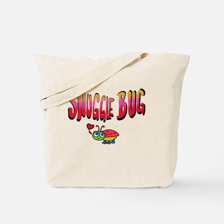 Cute Snuggle bug Tote Bag