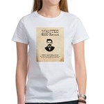 Doc Holliday Wanted Women's T-Shirt